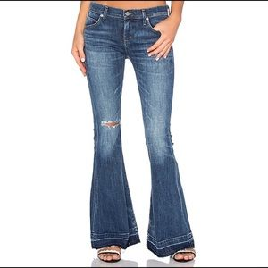 NWT AGOLDE Madison 70's Flare Starwood Jeans